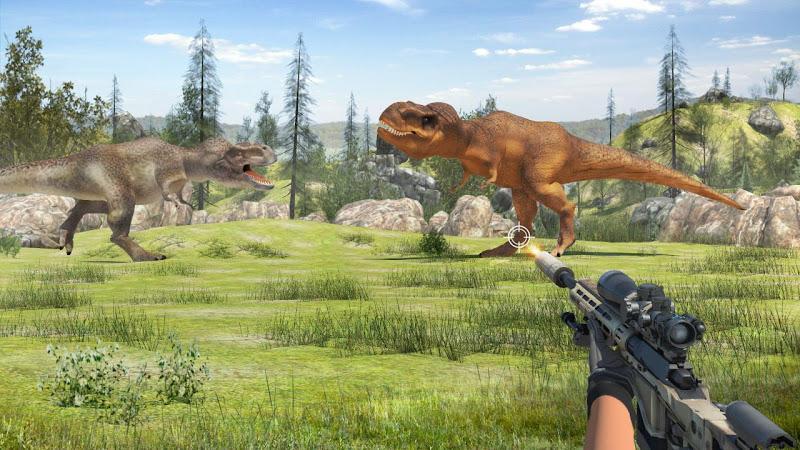 恐龙猎人食肉动物3D游戏最新中文版下载图1: