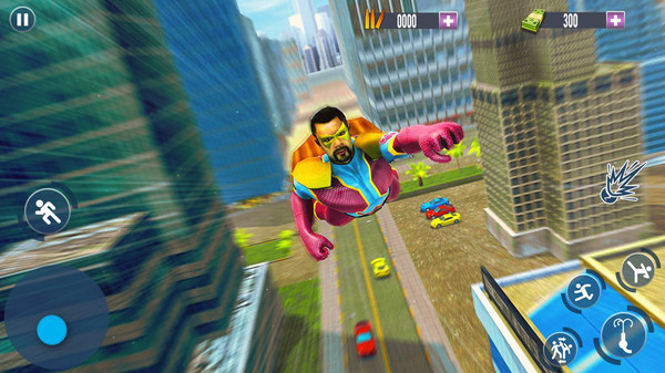 飞行英雄城市救援最新版安卓游戏图1: