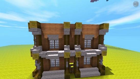 迷你世界中世纪建筑房子 中世纪别墅教程[多图]