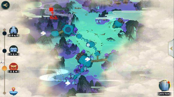 剑网3指尖江湖全地图宝箱、密室、密码锁通关地点总汇[多图]