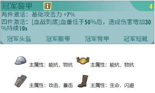 辐射避难所Online冠军装甲配件属性及英雄搭配推荐[多图]
