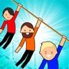 滑索救援游戏安卓最新版(Zipline Rescue) v1.0