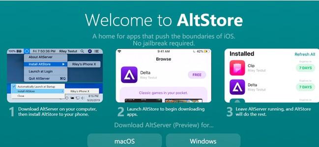 AltStore应用程序商店苹果版图1: