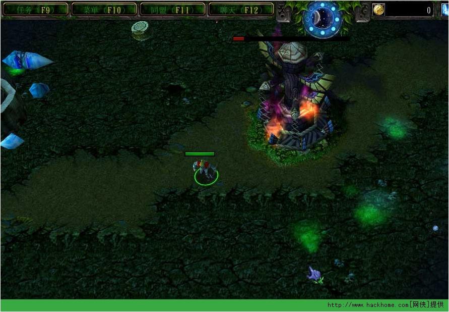 游戏地图 > 魔兽防守地图 迷雾森林   玩家需要职业英雄的配合守住8波