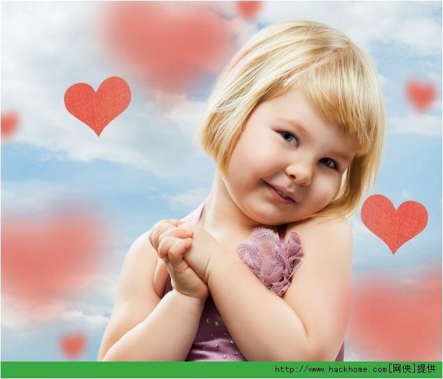 非爱可爱小女孩高清图片素材打包