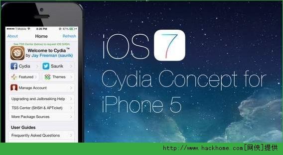 苹果ios7越狱后还原设置抹去系统后cydia闪退解决