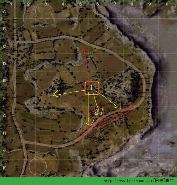 坦克世界黑枪点地图详解