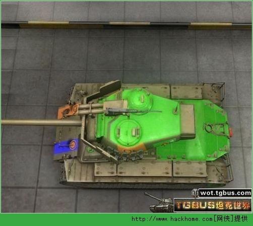 坦克世界超级潘兴弱点图文分析
