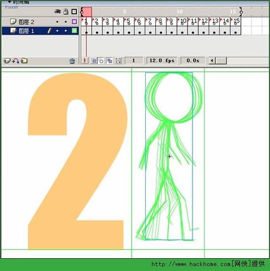 sh技巧 关于人物行走动作分解的简化